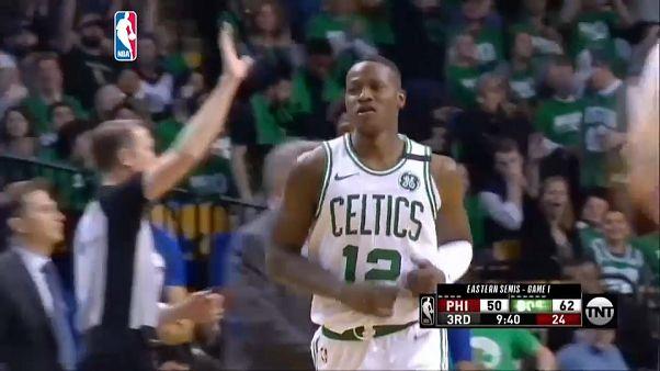 Rozier y los Celtics golpean primero
