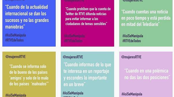 #AsíSeManipula: Trabajadoras de RTVE no descartan represalias por su campaña de denuncia