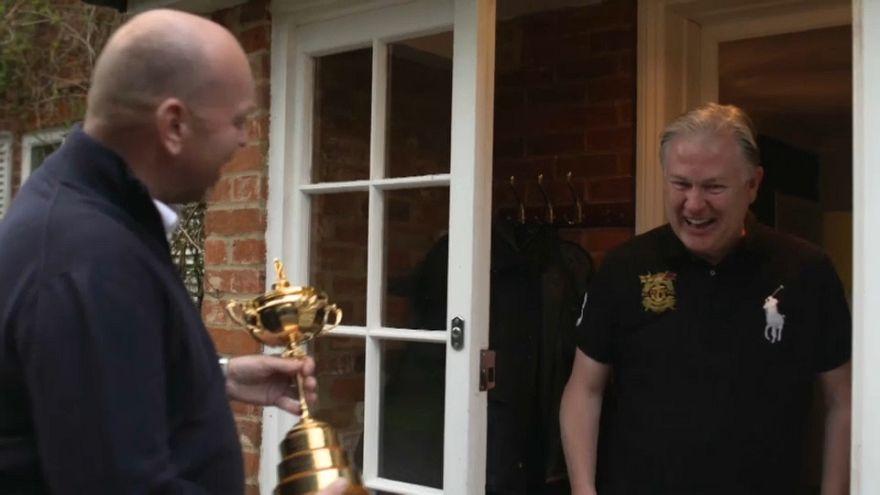 Europe Ryder Cup Captain Thomas Bjorn's practical joke