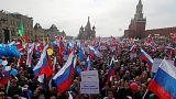 Százezren vonultak fel a Vörös téren