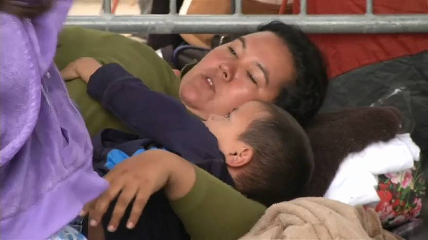 نجاح 8 مهاجرين من دخول الولايات المتحدة عبر المكسيك