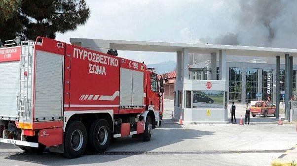 Ξάνθη: Σε επιφυλακή μετά την πυρκαγιά σε εργοστάσιο μπαταριών