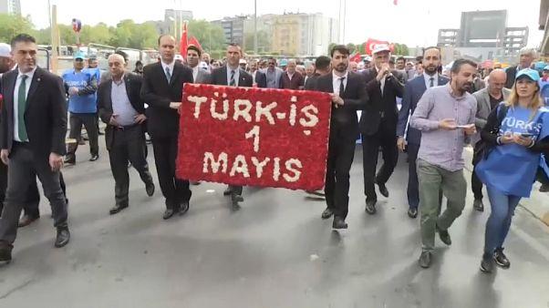 السلطات التركية تقيد حرية التجمع في ساحة تقسيم يوم عيد العمال