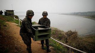 """""""La pace degli altoparlanti"""" dilaga in Corea"""