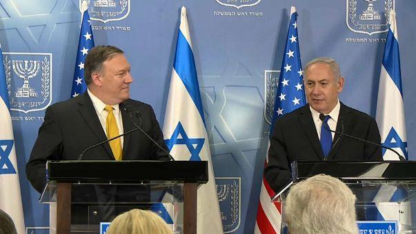 Pompeo avala las acusaciones israelíes sobre el plan nuclear iraní
