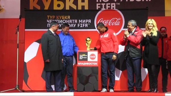 50 ülke gezen FIFA Dünya Kupası'nın aslı son durağı Rusya'ya vardı