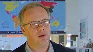 Christophe Deloire, Generalsekretär Reporter ohne Grenzen