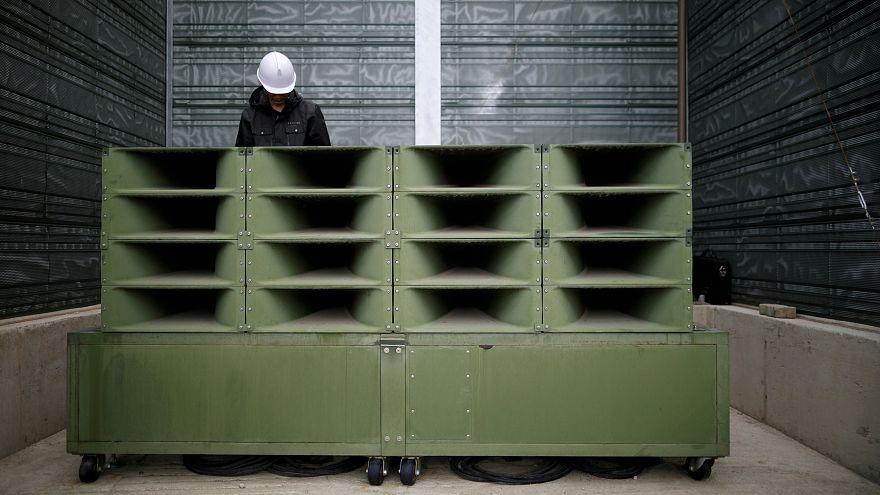 Südkorea baut Lautsprecher ab
