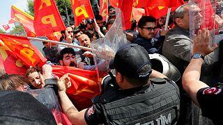 İstanbul'da 1 Mayıs gergin başladı
