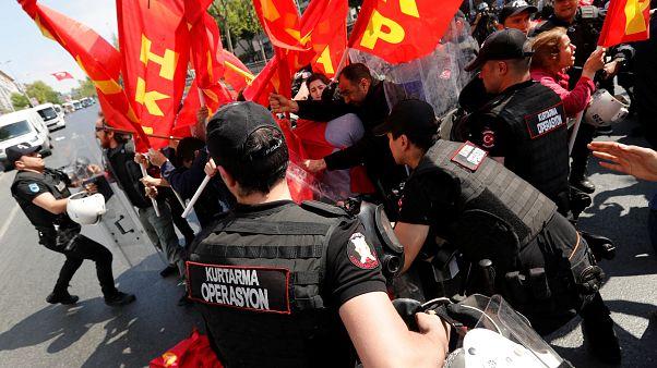 Τουρκία: Επεισόδια στις διαδηλώσεις για την Πρωτομαγιά