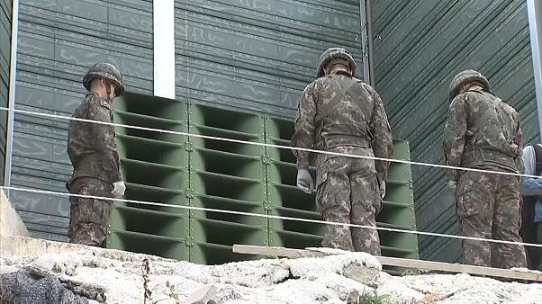 SKorea begins dismantling anti-NKorea propaganda speakers