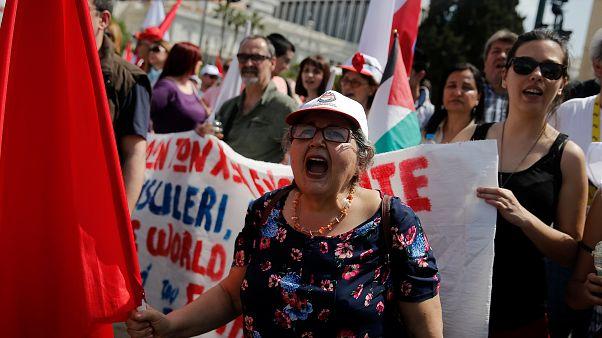 Manifestantes gregos dizem que retoma é miragem