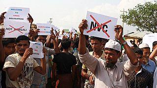 Μπανγκλαντές: Για την περίοδο των μουσώνων οχυρώνονται οι πρόσφυγες Ροχίνγκια
