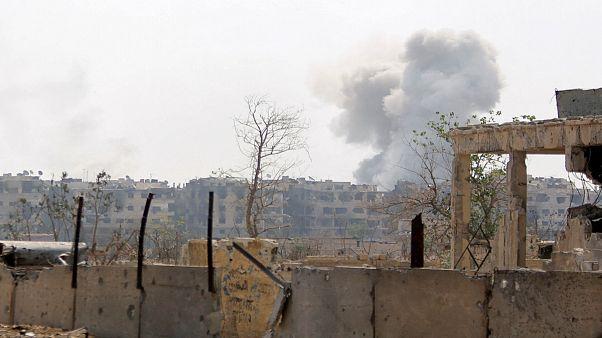 عکس تزئینی از حومه دمشق
