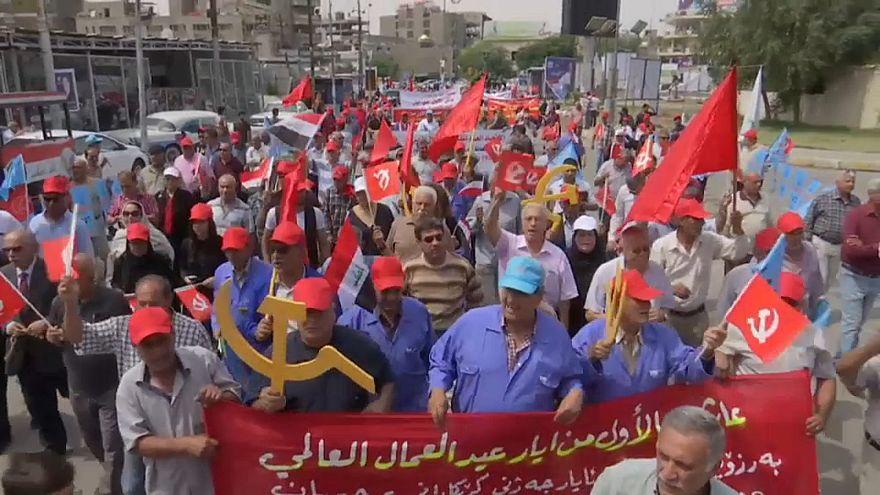 المشهد الانتخابي يخيّم على احتفالات العراقيين بعيد العمال