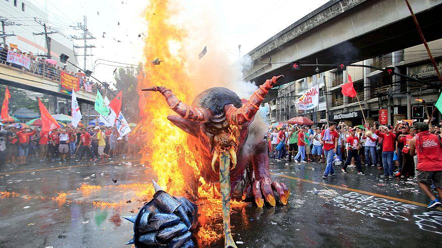 Первомай в Маниле