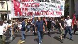 Ezrek tüntettek Görögországban május elsején