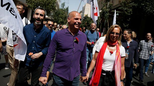 L'austérité plombe les défilés du 1er mai en Grèce