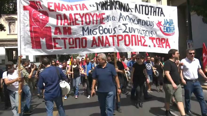 Greece May Day