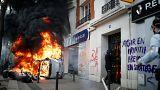 France : violences en marge du défilé du 1er mai à Paris