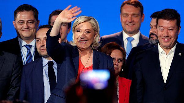 Marine Le Pen réunit l'extrême-droite européenne à Nice