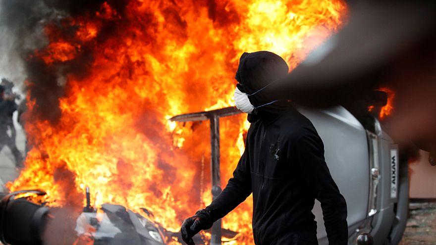 1º de Maio violento em Paris