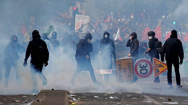 درگیریهای روز جهانی کارگر در پاریس