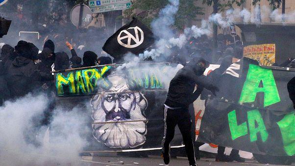 Парижский Первомай: дым и анархисты