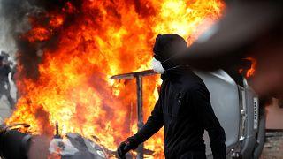 Primo maggio, scontri a Parigi