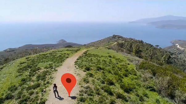 Остров Эльба на Google Maps