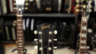Αίτηση πτώχευσης από τις κιθάρες Gibson