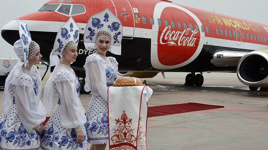 Troféu do Mundial aterra na Rússia