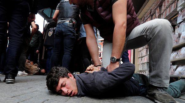 1er mai : 84 arrestations à Istanbul