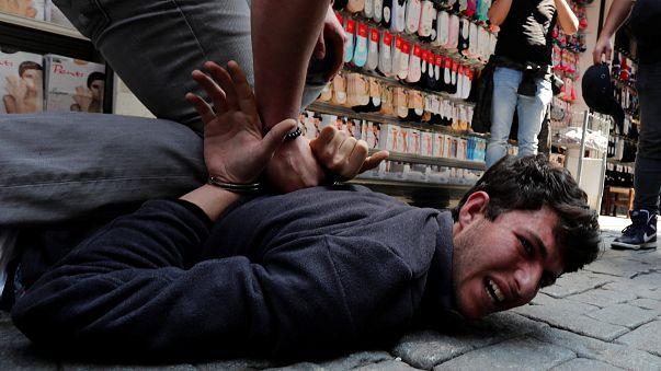 Primo maggio di scontri in Turchia