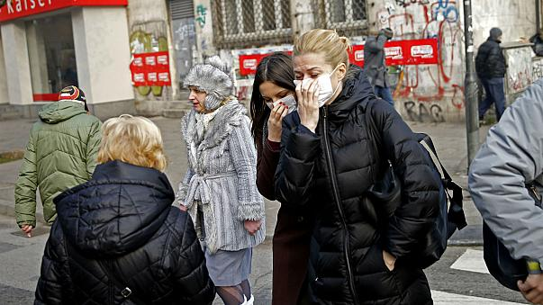 9 out of 10 people worldwide breathing polluted air