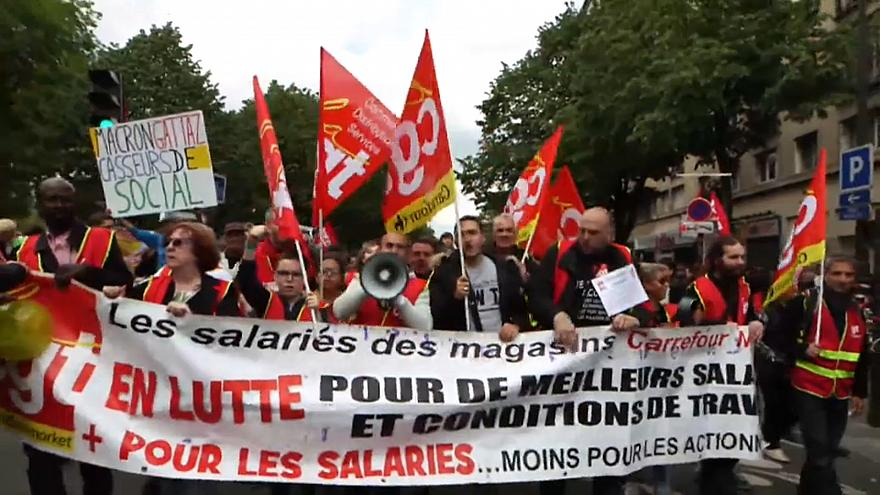 Desunión sindical en el 1 de mayo francés