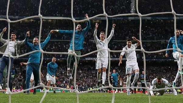 Real Madrid üst üste 3. kez finalde