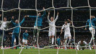Real Madrid reach third straight Champions League final