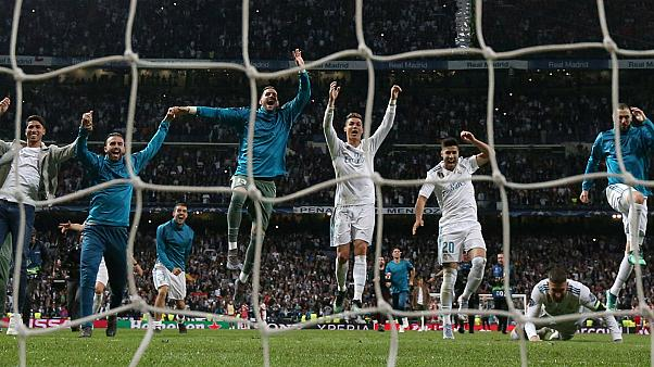 Real Madrid reach third straight Champions League final