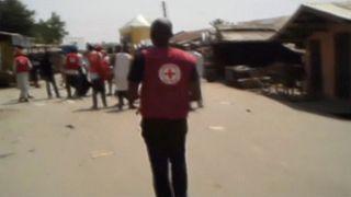 Etwa 70 Tote nach Doppelanschlag in Mubi