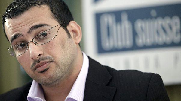 Iraqi reporter Muntazer al-Zaidi in Geneva, October 2009.