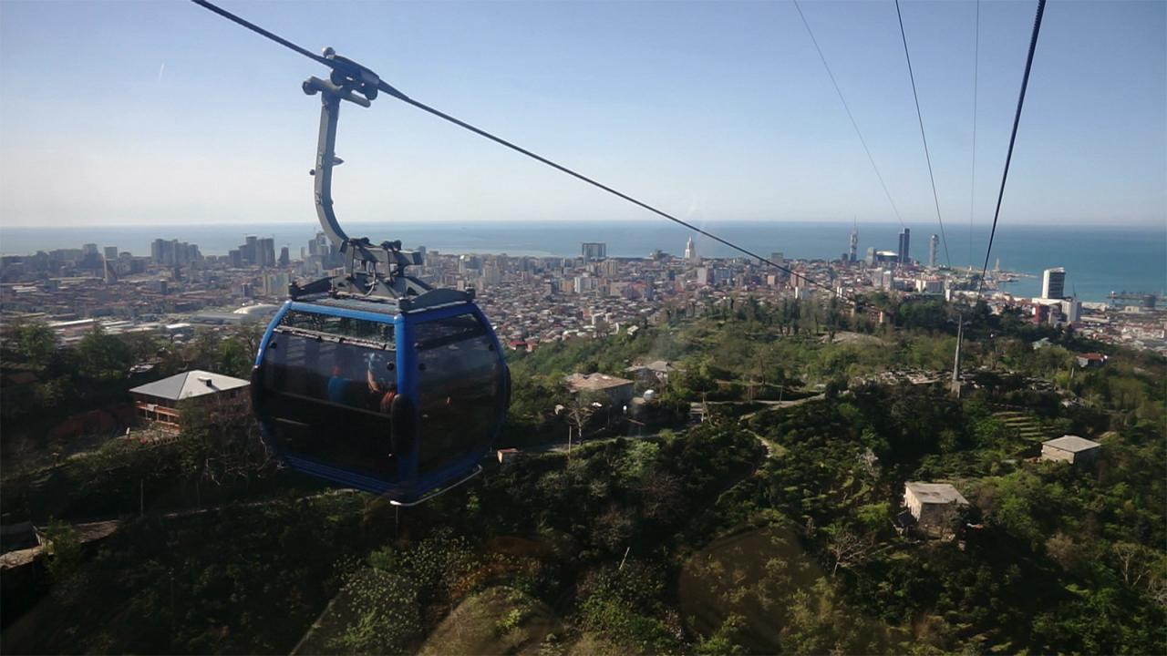 Georgian Adventures : Batoumi depuis les airs