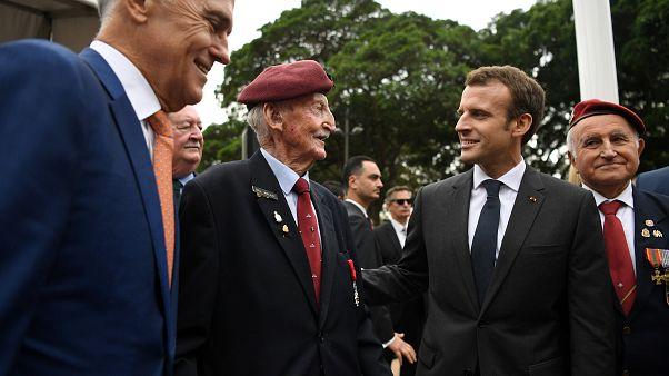 Paris et Camberra unies dans la défense