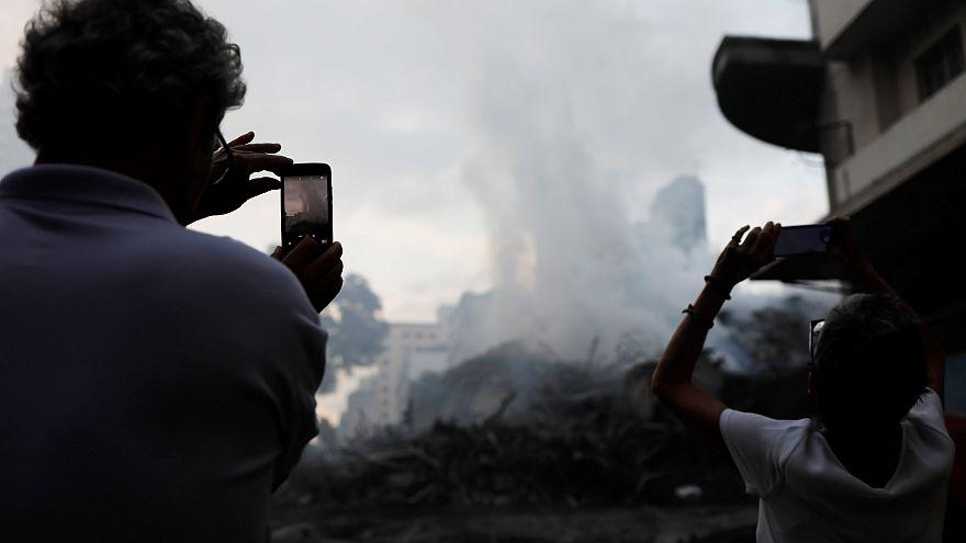 Még keresik az eltűnteket a leégett São Pauló-i irodaháznál