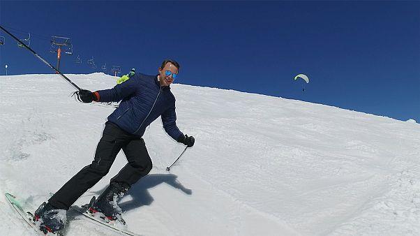 Esquiar na Geórgia a mais de 3000 metros