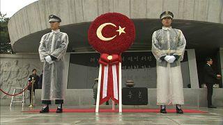 Cumhurbaşkanı Erdoğan G.Kore'de
