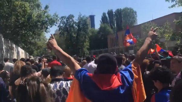 Jornada de 'desobediencia civil' de la oposición armenia