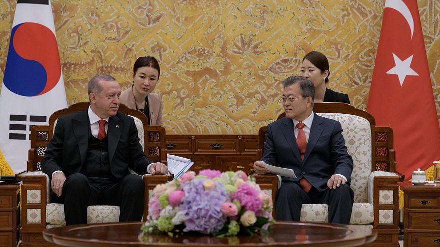 Turquia e Coreia do Sul querem reforçar cooperação económica