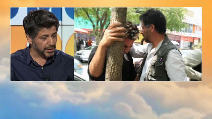 Euronews a Kabul: la testimonianza di un giornalista
