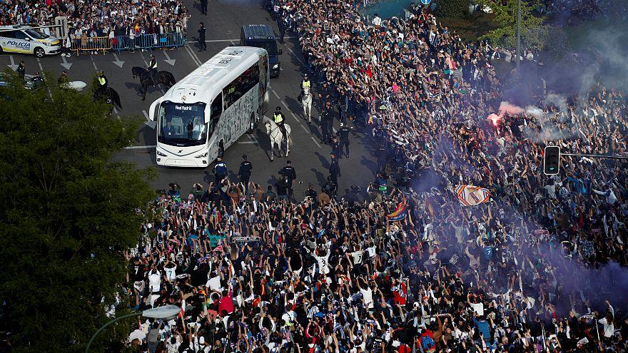 Merengues festejam lugar na final depois de encontro tremido no Bernabéu